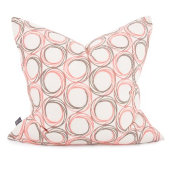 """24"""" x 24"""" Demo Coral Pillow - Down Fill"""