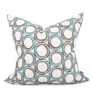 "24"" x 24"" Demo Indigo Pillow - Poly Insert"
