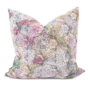 "24"" x 24"" Stanton Blush Pillow - Poly Insert"