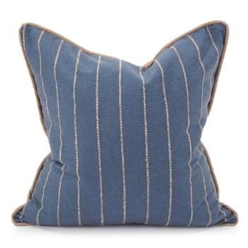 "24"" x 24"" Pillow Evie Indigo - Down Insert"