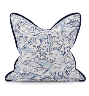 "24"" x 24"" Pillow Fable Royal - Down Insert"