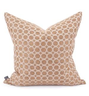 """24"""" x 24"""" Pillow Pyth Gold - Down Insert"""