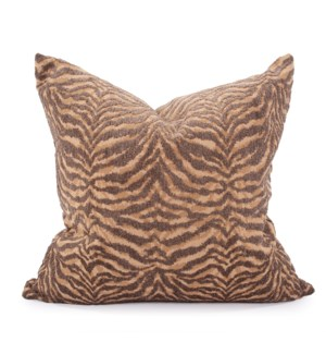 "24"" x 24"" Pillow Bengal Gold - Down Insert"