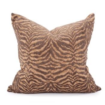 """24"""" x 24"""" Pillow Bengal Gold - Down Insert"""