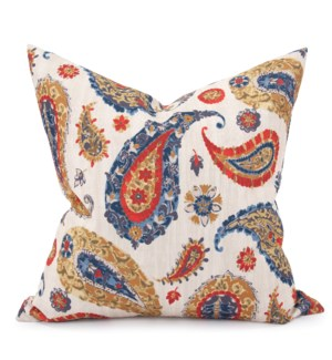 "24"" x 24"" Pillow Boteh Sand - Down Insert"
