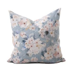 24 in. x 24 in. Pillow Claude Breeze  - Down Insert