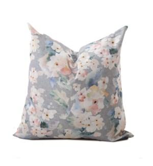 24 in. in. x 24 in. Pillow Claude Moss  - Down Insert