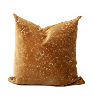 24 in. x 24 in. Pillow Pisani Gold - Down Insert