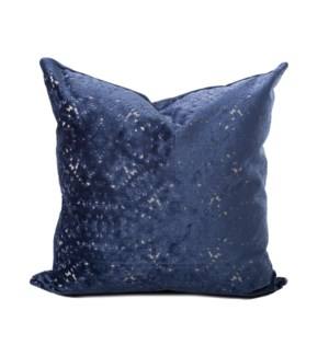 24 in. x 24 in. Pillow Pisani Sapphire - Down Insert