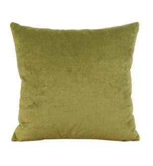 """24"""" x 24"""" Bella Moss Pillow - Poly Insert"""
