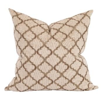 "24"" x 24"" Pillow Moroccan Gold - Down Insert"