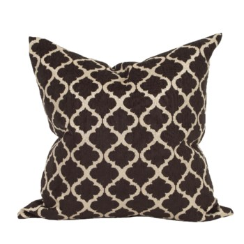 "24"" x 24"" Pillow Moroccan Onyx - Down Insert"