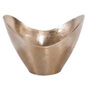 Raw Gold Aluminum Hi-Lo Bowl