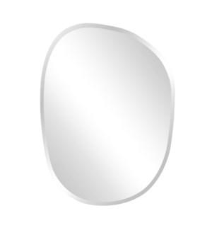 Frameless Asymmetrical Mirror