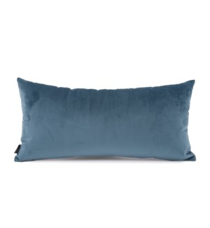 "11"" x 22"" Bella Teal Kidney Pillow"
