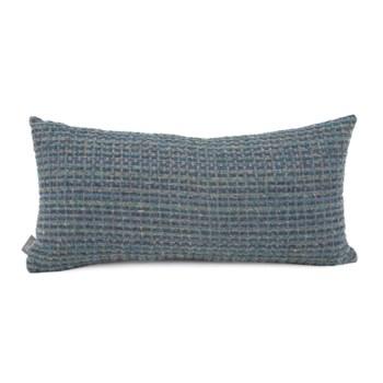 """11"""" x 22"""" Alton Indigo Kidney Pillow"""