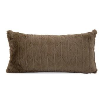 """11"""" x 22"""" Angora Moss Kidney Pillow"""