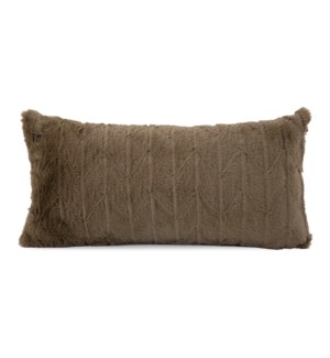Kidney Pillow Angora Moss - Down Insert