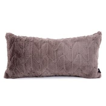 """11"""" x 22"""" Angora Stone Kidney Pillow"""