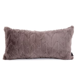 Kidney Pillow Angora Stone - Down Insert
