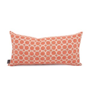 "11"" x 22"" Pyth Coral Kidney Pillow"