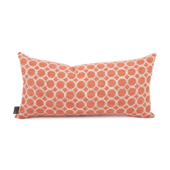 """11"""" x 22"""" Pyth Coral Kidney Pillow"""