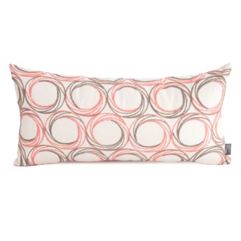 """11"""" x 22"""" Demo Coral Kidney Pillow"""