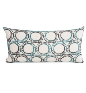"11"" x 22"" Demo Indigo Kidney Pillow"