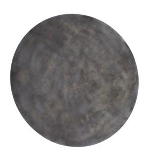Mottled Bronze Iron Disc Wall Art, Small