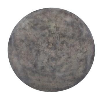 Mottled Bronze Iron Disc Wall Art, Large