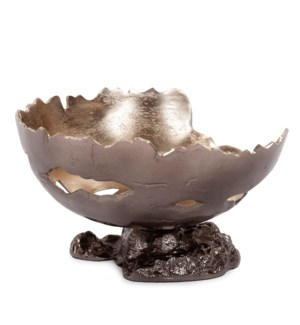 Pompei Cast Aluminum Bowl, Small