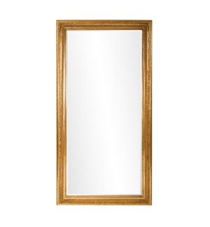 Nancy Gold Floor Mirror