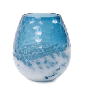 Blue-Sky Small Bulbous Vase