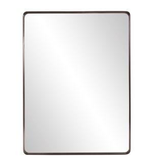Steele Brass Mirror