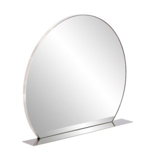Marion Round Mirror with Shelf