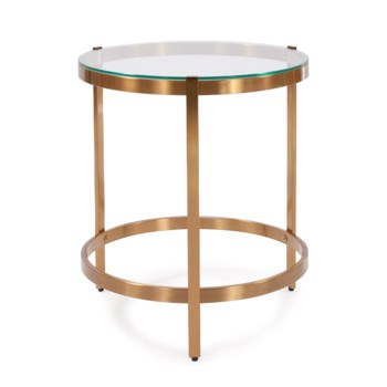 Brushed Brass Stainless Steel Side