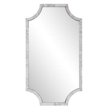 Makrana Marble Scalloped Mirror