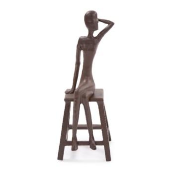 Sitting Beauty Aluminium Sculpture