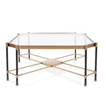 Graham Brushed Brass Coffee Table