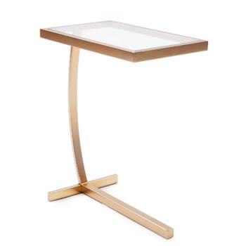 Dark Brushed Brass Side Table