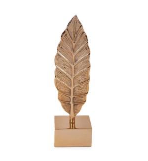Gold Aluminum Leaf Sculpture