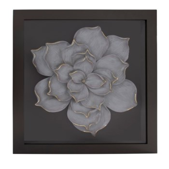 Magnolia Flower Wood Wall Art