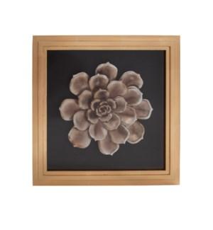 Camellia Flower Wood Wall Art