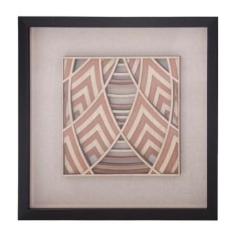 Dimensional Wood Mandala Wall Art