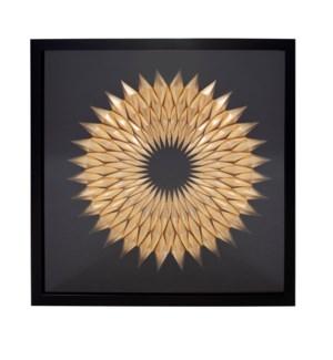 Inca Star of Gold Framed Art