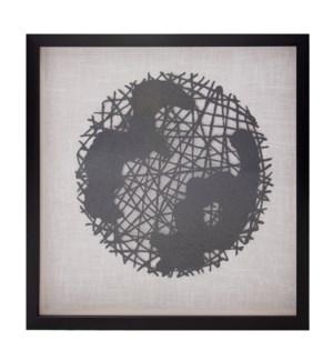 Globe Framed Art