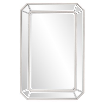 Leopold White Mirror