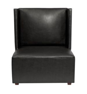 Square Chair Atlantis Black