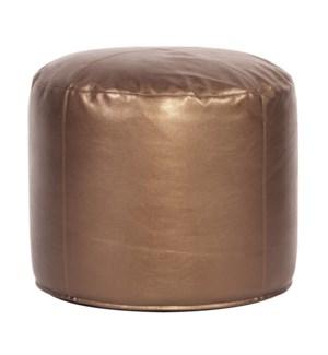 Tall Pouf Shimmer Bronze