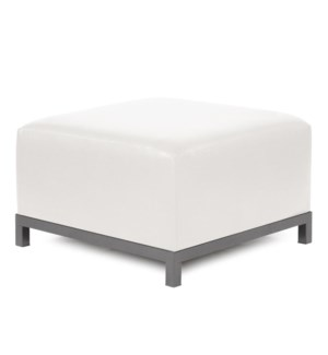 Axis Ottoman Avanti White Slipcover (Cover Only)